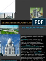 Elements in islamic architecure