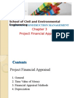 3. Project Financial Appraisal