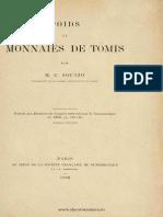 Poids et monnaies de Tomis / par M.C. Soutzo