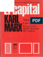 El Capital (Tomo I, Volumen III), Karl Marx