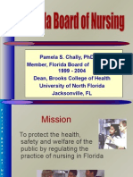 Dr. Chally- Florida Board of Nursing Notes
