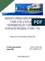 10.- Analisis FMDEA