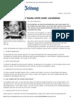 Berliner Zeitung- Was Unsere Kinder Heute Nicht Mehr Verstehen
