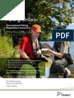 2015 Ontario Fishing Regulations Summary