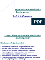 8. Dr. Mangesh Korgaounker Project Management Presentation