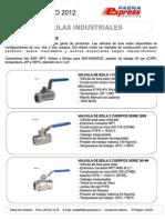 Catalogo 2012 Valvulas-Industriales Faenaexpress