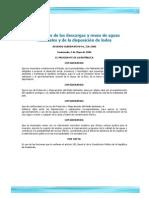 07 Acuerdo Gubernativo 236 2006 Reglamento Descargas y Reuso