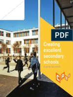 Creating Excellent Secondary Schools