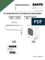 Technical Service Manual DC INVERTER SPLIT SYSTEM AIR CONDITIONER