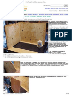 Free Plans for Building Your Own Wooden Tobacco Curing Kiln