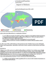 cdc - malaria - malaria worldwide - impact of malaria