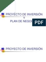 Presentacion Proyecto de Inversion y Plan de Negocios 2015