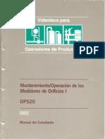 Mantenimiento_Operacion de Los Medidores de Orificio I OP520 (IHRDC)