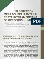 CASO LORI BERENSON MEJÍA VS