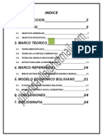 Modelo Economico Boliviano1