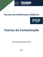 Caderno de Multimeios Didáticos (Teorias de Comunicação)