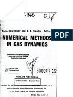 Numerical Methods in Gas Dynamics