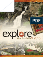Explore the Foothills 2015