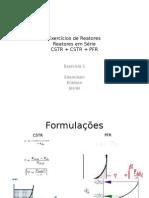 Exercícios de Reatores  II.pptx