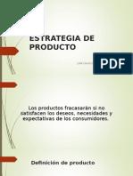 Presentación Estrategia de Producto