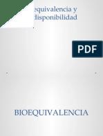 FARMA Bioequivalencia y Biodisponibilidad
