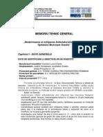 1 Caiet de Sarcini Vol1 - Memoriu Tehnic