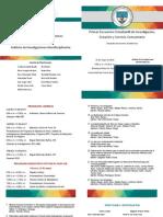 Programa Encuentro Estudiantil de Investigación, Creación y Servicio Comunitario Mayo 2015