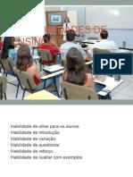 As Habilidades de Ensino