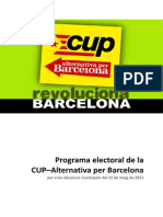 Programa CUP AB 2011
