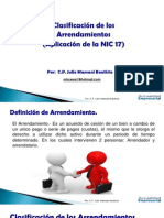 Arrendamiento Financiero - Nic 17