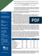 Press-release referente ao 1T15