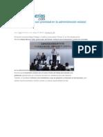 13-05-2015 Poblanerías.com - Educación y Salud Son Prioridad en La Administración Estatal, RMV