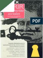 Abrir Las Ciencias Sociales