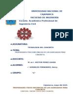 Propiedades Físico Mecánicas Informe Nº 1