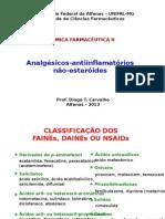 Analgésicos Antiinflamatórios Não Esteróides 2012.1