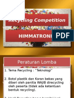 Recycling Competition