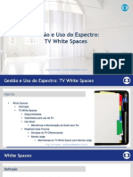 Gestão e Uso do Espectro - TV White Spaces