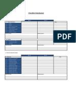 Checklist de Instalacion MW