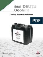 DEUTZ Coolant PN 0031 2266