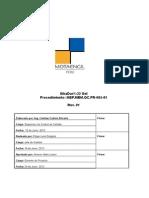 Procedimiento MEP.mbm.QC.pr-005-01 SikaDur32 Gel