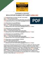 Market Dynamics - Loudoun APR15