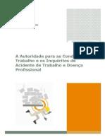 A Autoridade Para as Condições Do Trabalho e Os Inquéritos de Acidente de Trabalho e Doença Profissional