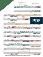 Bach 855 Charlier Analysis
