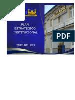 EMI Plan Estrategico Institucional 2011-2015