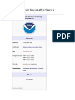 Administración Nacional Oceánica y Atmosférica