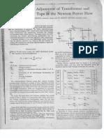 IEEE- Ajuste Automatico de Transformadores Cambiadores de Fase.-proy. Grado.
