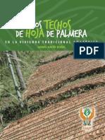 Los Techos de Hoja de Palmera en La Vivienda Tradicional Amazonica