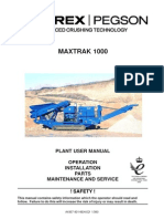 1000 Maxtrak Plant User Manual 2008 (L)