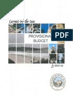 Carmel Provisional Budget FY15-16
