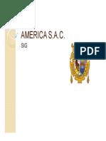AMERICA S Implementacion SIG